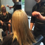 highlights blond haircut tony shamas hair laser long hair toronto salon downtown