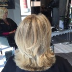 highlights haircut tony shamas hair laser salon toronto downtown blonde