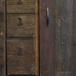 reclaimed barn wood detail door drawers colour bar hair salon tony shamas hair laser toronto