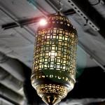 lamp over aisle hair salon toronto