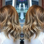 best balayage highlights hair salon Toronto haircuts downtown