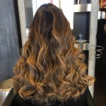 best balayage highlights hair salon Toronto haircuts waves style look