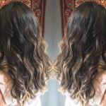 best balayage highlights hair salon Toronto haircuts wavy hair salon downtown