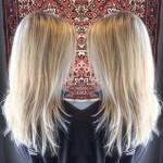 best blonde highlights haircut style Toronto Hair Salon Tony Shamas Olaplex Fusio Dose