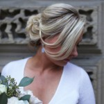 best blondes highlights olaplex wedding updo