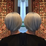 Best Platinum Blonde Grey Highlights Haircuts Toronto Salon Tony Shamas Chic Luxury