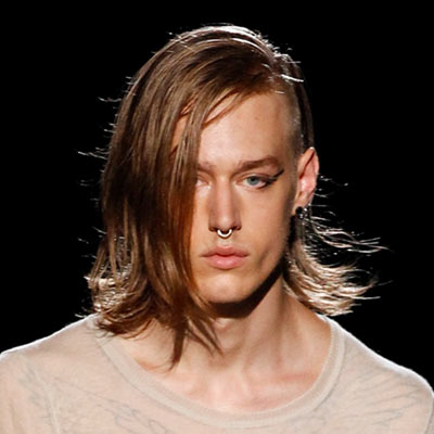 Men Undercut Long Hair