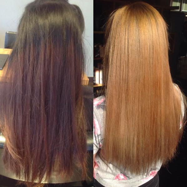 Hair Correction : hair colour correction at tony shamas hair and laser salon toronto