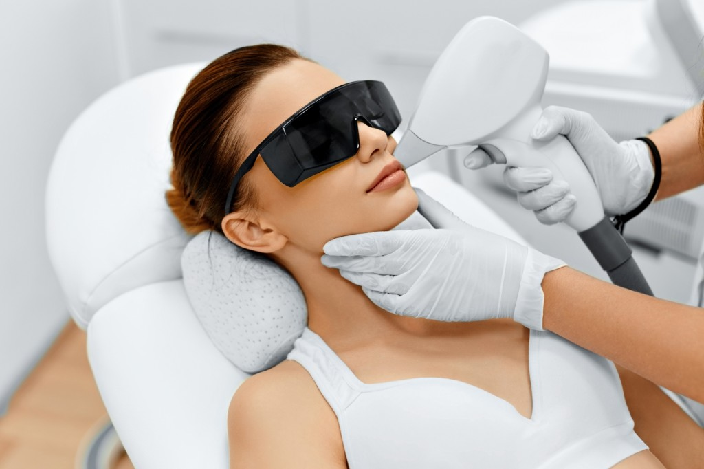 upper lip laser hair removal Toronto