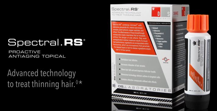 Spectral RS topical antiaging for thinning hair and hair losee toronto treatment hair salon
