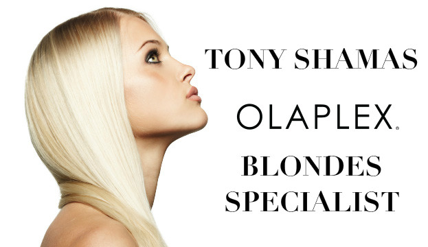 TONY SHAMAS BLONDES SPECIALIST BEST HIGHLIGHTS TORONTO OLAPLEX HAIR AND LASER