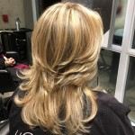best blonde highlights salon Toronto master colourist Tony Shamas