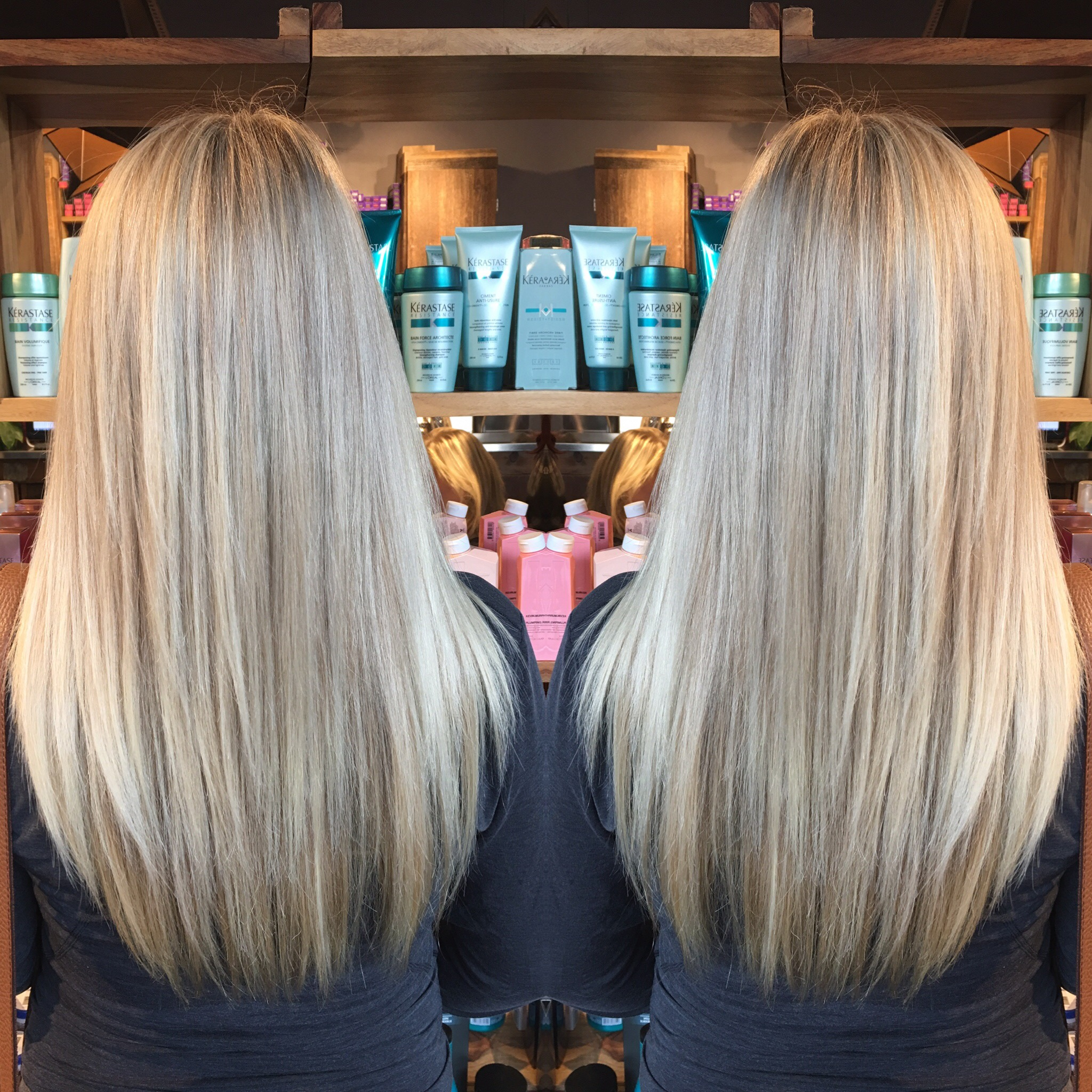 Best blondes highlights toronto salon tony shamas olaplex for Olaplex salon