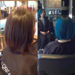 best hair colour toronto blue hair tony shamas hair laser salon