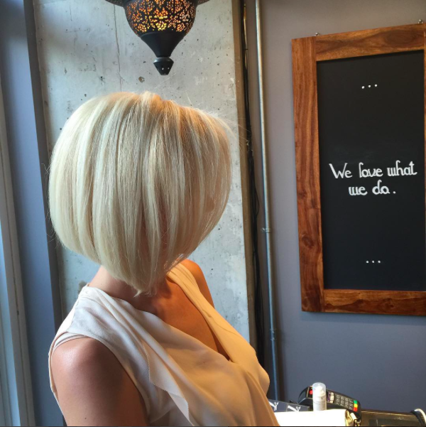 best haircuts toronto short bob olaplex