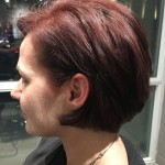 best haircuts Toronto salon Tony Shamas hair laser red hair colour