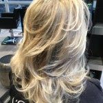 blonde full highlights olaplex fusio dose kerastase salon toronto tony shamas hair laser