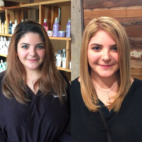 the best hair salon for blondes and highlights tony shamas hair laser toronto