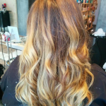 best balayage hair salon Toronto caramel