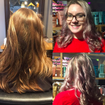 best balayage hair salon Toronto pink