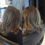 best balayage hair salon Toronto grey