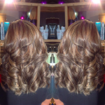 best balayage hair salon Toronto curls