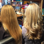 best balayage hair salon Toronto before after