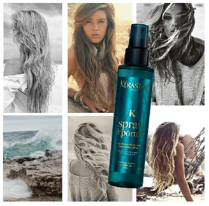 Perfect Beach Waves Hair with Sea Salt Spray Hair Salon Toronto Best